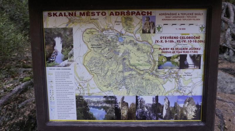 Felsenstadt Tschechien