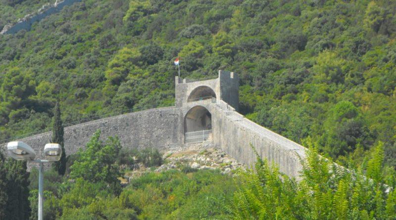 Verteidigungsmauern Süddalmatien kroatien