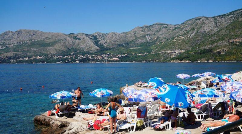 strand konavle kroatien