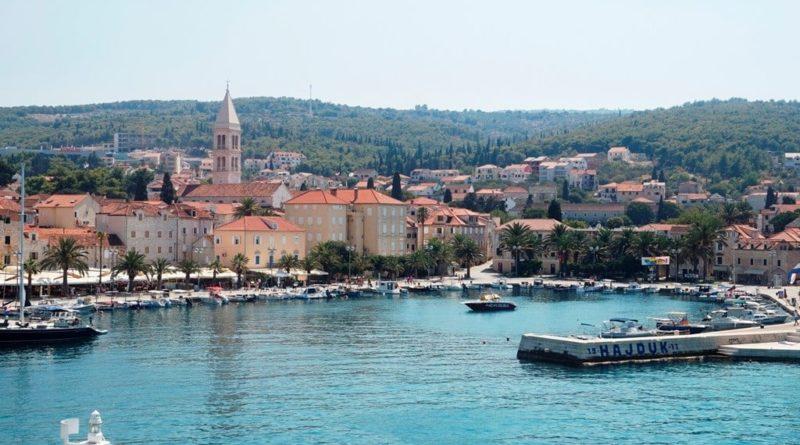 insel brac kroatien in dalmatien