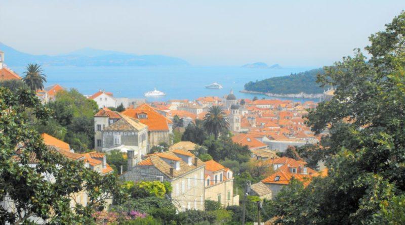 Panorama von kroatien