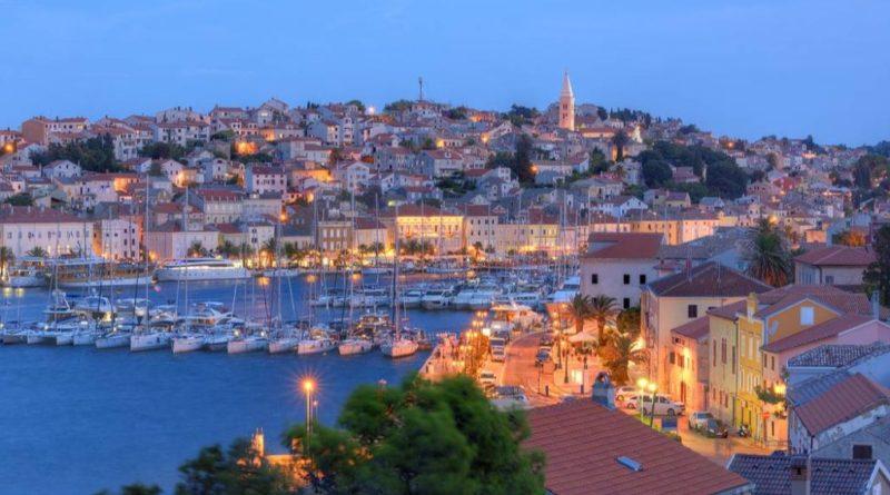 mali losinj auf der insel losinj in kroatien