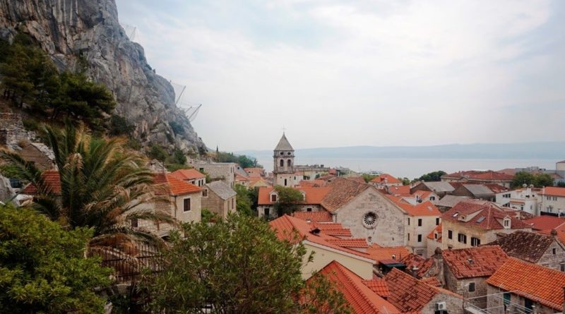 festung miabela omis kroatien