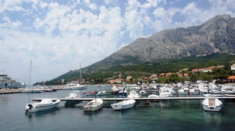 Yachthafen orebic kroatien