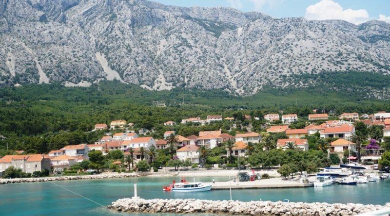 Blick auf den Berg Sveti Ilija
