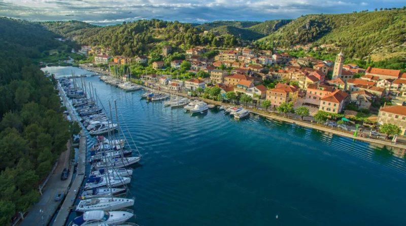 skradin kroatien und die krka wasserfälle