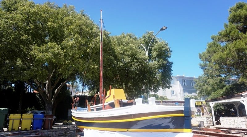 yachthafen auf krk