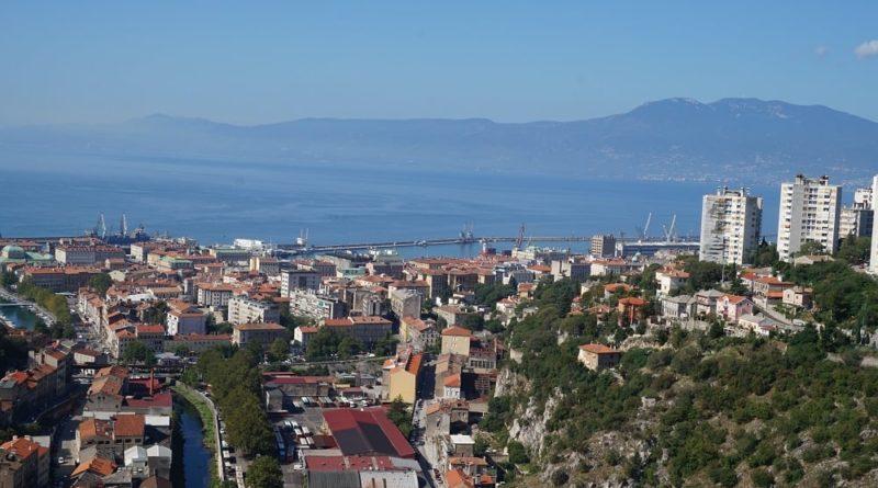 Panorama von Kvarner und Rijeka