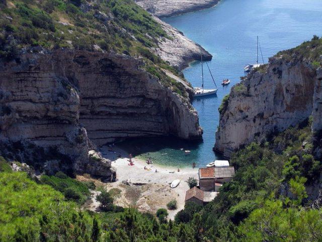 Wilde Strände in Kroatien auf vis
