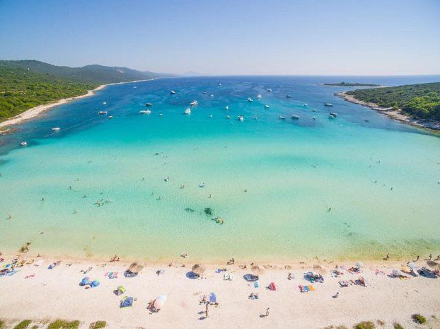 Wilde Strände in Kroatien sakarun dugi otok