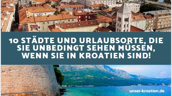 10 Städte und Urlaubsorte