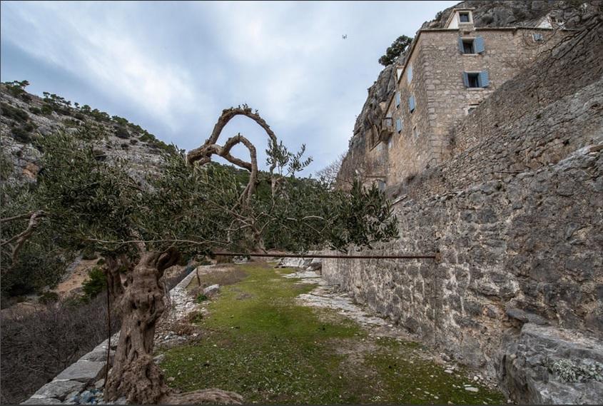 Eremitage von Blaca auf der Insel Brač